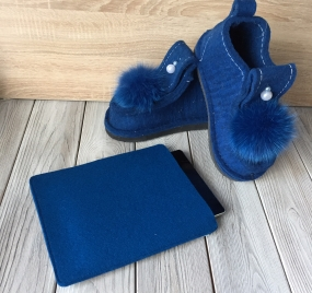Комплект DENIM iPad индиго