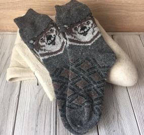Носки  Бурый медведь
