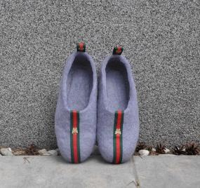 Тапочки Wool Slippers 01