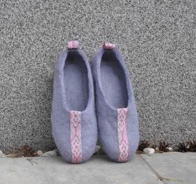 Тапочки Wool Slippers 02