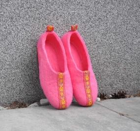 Тапочки Wool Slippers 03