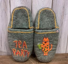 Тапочки валяные «Party»