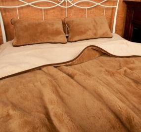 Одеяло двусторонний мех
