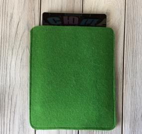 Чехол из фетра для iPad зеленый