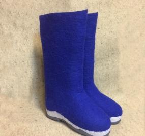 Самовалки синие на подошве