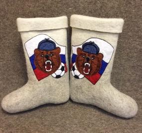 Русские валенки