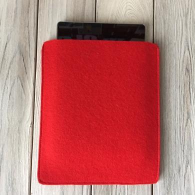 Чехол из фетра для iPad красный