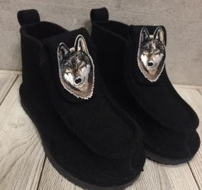 Валеши BLACK волк